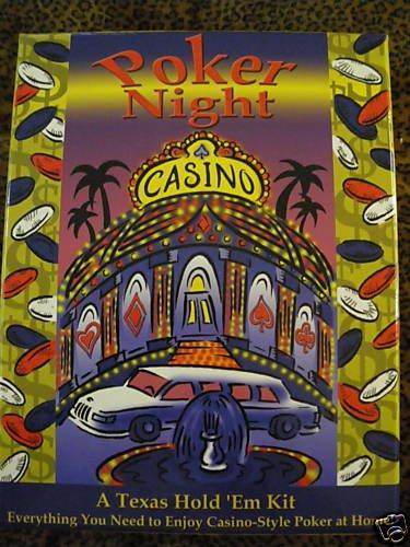 Poker Night - A Texas Hold 'Em Kit