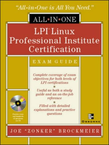 LPI Linux Professional Institute Certification with CDROM