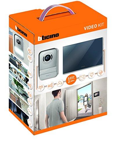 bticino-317013-kit-videocitofono-2-fili-finitura-specchio-mono-bifamigliare