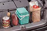 Highland 95013 Black Three-Pocket Storage Net