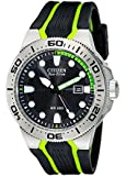 "Citizen Men's BN0090-01E ""Scuba Fin"" Eco-Drive Diver's Watch with Two-Tone Band"