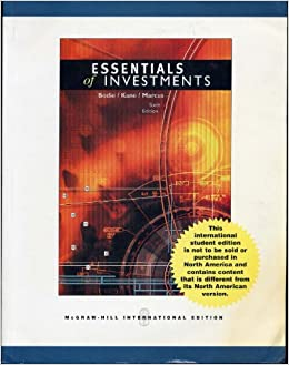 essentials of investments 9th edition solutions manual pdf free