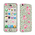 SkinGuardz Vinyl Decal Sticker Skin for Apple iPhone 5C - Leopard Rose