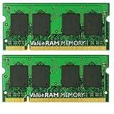 4GB 667MHz DDR2 Non-ECC CL5 SODIMM (Kit of 2)