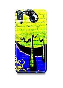 Colorful Graffiti HTC 826 Case