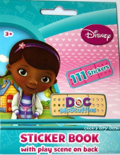 Doc McStuffins Sticker Book with Play Scene & 111 Stickers! - 1