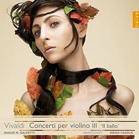 RV 210 in re maggiore per violine e archi: III. Allegro