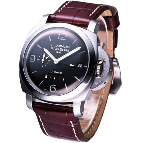 Panerai Luminor 1950 10 Days GMT 44mm Stainless Steel Mens Watch PAM00270