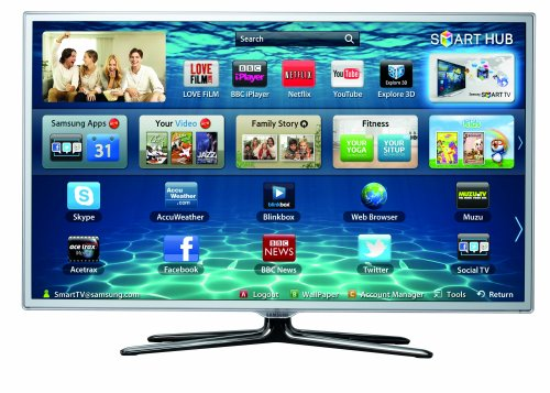best uk samsung 37 inch 3d smart led tv ue37es6710 full hd 1080p widescreen with built in wi fi. Black Bedroom Furniture Sets. Home Design Ideas