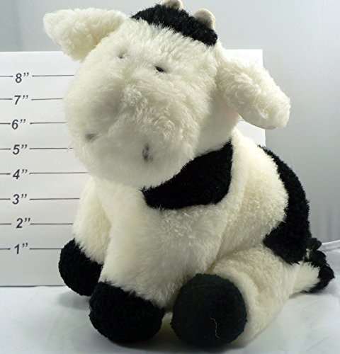 "9"" Cow Plush Toy"