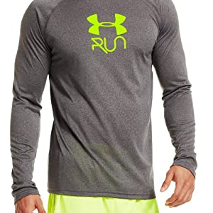 Under Armour Mens UA Stop & Go Long Sleeve T-Shirt by Under Armour
