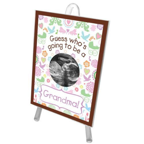 PRETTY PATTERN GRANDMA SONOGRAM FRAME - 1