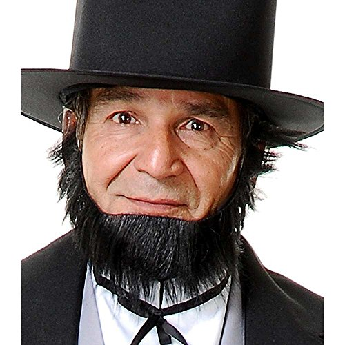 Abe Lincoln Curtain Beard