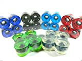 Big Boy 70mm Blank Gel Color Pro Longboard Cruiser Wheels Set of 4