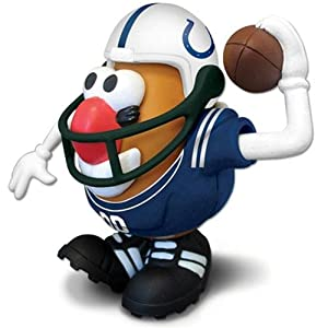Indianapolis Colts NFL Sports-Spuds Mr. Potato Head Toy