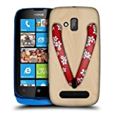 Head Case Red Blossoms Japanese Footwear Back Case Cover For Nokia Lumia 610