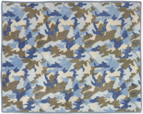 Blue Camo Baby Bedding 5360 back