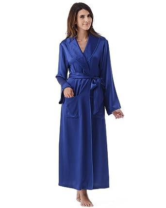 658736b766 ## Narasilk Femme 100% Soie, Peignoir de Bain Pleine Longueur, Vêtements de  Nuit Price! - asfbrzmw-12