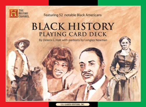 Black History Playing Card Deck (History Channel)