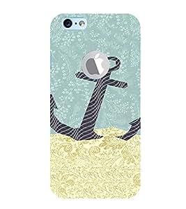 EPICCASE Anchor dropped Mobile Back Case Cover For Apple iPhone 6, 6S Logo Cut (Designer Case)