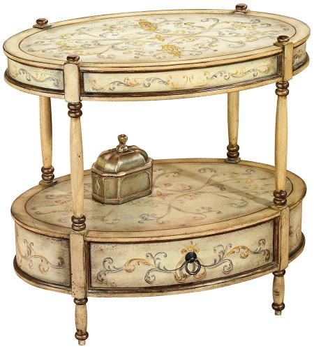 Image of Butler Specialty 0822041 Oval Accent End Table (B00252DI3C)