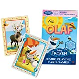 Disney Frozen Jumbo Movie Playing Cards - Olaf