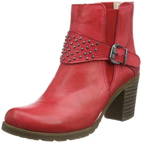 Andrea Conti1672709 - Stivali bassi con imbottitura leggera Donna , Rosso (Rot (Rot 021)), 40 EU