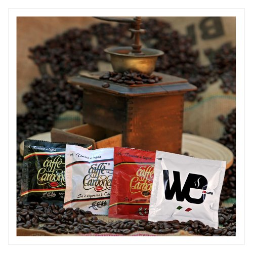 Get ESE Coffee Pods Mixed Variety Pack Classic - Ristretto - 100% Arabica - We Espresso (100 pods) from Carbonelli