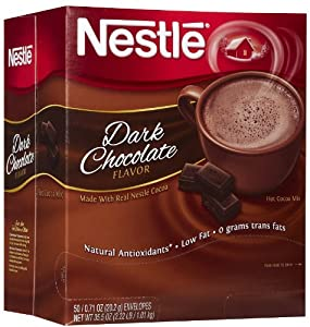 Nestle Hot Cocoa Mix-Dark Chocolate, 50 ct