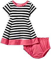kate spade york Baby Girls Babies' Dress, Stripe/Watermelon