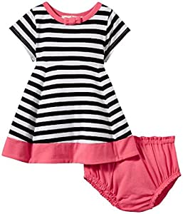 kate spade york Baby Girls Babies' Dress, Stripe/Watermelon