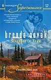 Stranger In Town (Harlequin Large Print Super Romance) (0373780230) by Novak, Brenda