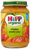 HiPP Organic Stage 2 From 7 Months Cheesy Pasta Bake 6 x 190 g (Pack of 2, Total 12 Pots)