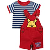 Winnie the Pooh Infant Red Shortall Set 7J4518
