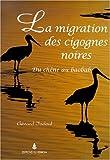 echange, troc Gérard Jadoul - Migration des cigognes noires