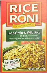 Amazon.com : Rice-A-Roni Original Long Grain & Wild Rice