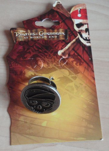 Pirates of the Caribbean Skull Ring
