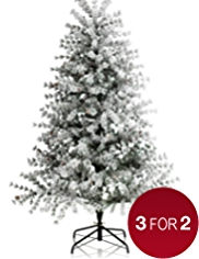 6ft Woodland Tree with Artificial Snow