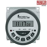 Frontier Digital Timer programmable Time Switch TM619H2 - Made in Taiwan - With Lcd-4 Pin