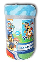 Nickelodeon Paw Patrol Fleece Throw Blanket - 40in X 50in