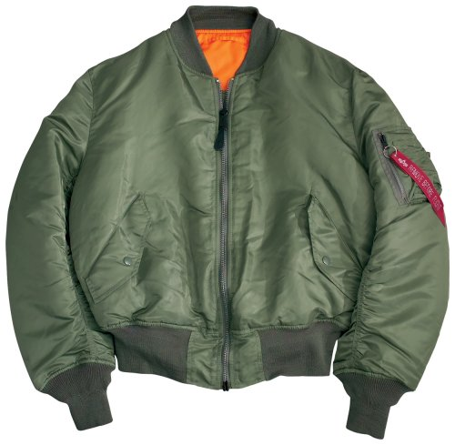 Alpha MA - 1 Nylon Flight Jacket - Buy Alpha MA - 1 Nylon Flight Jacket - Purchase Alpha MA - 1 Nylon Flight Jacket (Alpha, Alpha Mens Outerwear, Apparel, Departments, Men, Outerwear, Mens Outerwear)