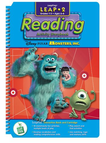 "Leap 2 Reading: Disney & Pixar's ""Monsters, Inc."""
