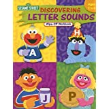 Sesame Street Discovering Letter Sounds Wipe-Off Workbook: Ages 2 to 4
