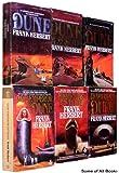 The Dune Collection, Books 1-6. (Set includes -- Dune, Dune Messiah, Children of Dune, God Emperor of Dune, Heretics of Dune, Chapterhouse Dune) Complete Series