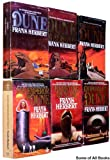 img - for The Dune Collection, Books 1-6. (Set includes -- Dune, Dune Messiah, Children of Dune, God Emperor of Dune, Heretics of Dune, Chapterhouse Dune) Complete Series book / textbook / text book