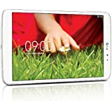 "LG GPad V500 Tablette tactile 8,3"" Blanc (16 Go Android Jelly Bean 4.2.2, WiFi)"