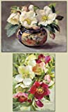 Seasonal Christmas Cards- 3 Christmas Roses and 3 Hellebores