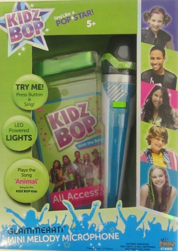 "Kidz Bop Glammerati Mini Melody Microphone-Plays the Song ""Animal"" - 1"