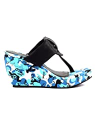 Tic Tac Toe Flat Sandals For Women - B015XEQQRI