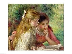 Pierre auguste renoir la lecture impression d 39 art print for Renoir maison classique